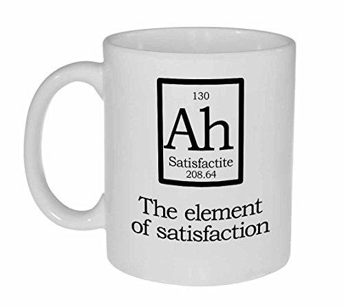 Element van Tevredenheid - Nep Element AH koffie of thee mok