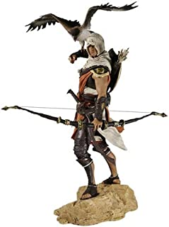 DMCMX Assassin's Creed Origins Toy Statue Toy Model Game Character Bayek Guardian Assassin Master Partner Senu Souvenir Crafts Static Character Decoration 25CM Toys