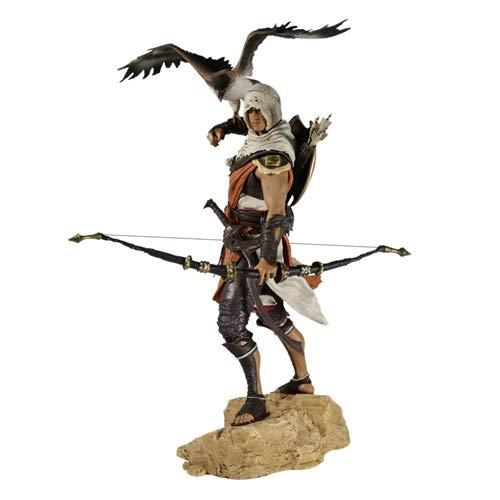 DMCMX Credo Origins Toy Statue Toy Modell Spiel Assassins Charakter Bayek Wächter Attentäter Master-Partner Senu Souvenir Crafts Static Charakter Dekoration 25CM Spielzeug
