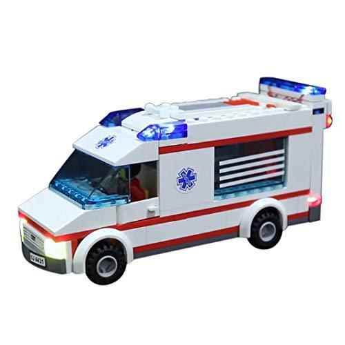 NURICH Licht Set für Lego 4431 Krankenwagen, passen zum Lego 4431