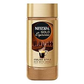 Nescafé Gold Espresso Instant Coffee Jar, 100g