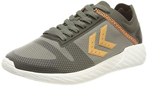 Hummel Women's Low-Top Sneakers, Magnet Black, US:6.5