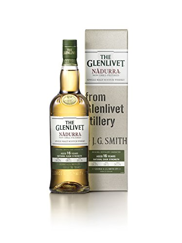 The Glenlivet Nàdurra 16 Jahre Single Malt Scotch Whisky – Natural Cask Strength Non Chill-Filtered Scotch Single Malt Whisky – 1 x 0,7 L