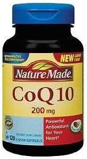 Nature Made 辅酶 Q10 辅酶 Q10 200 毫克 - 120 粒软胶囊