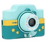 Cámara con Pantalla táctil, cámara para niños con reconocimiento Facial de automática con cordón y Cable de Datos para niños
