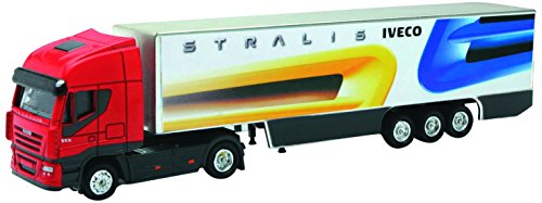 NewRay 46753E - Truck Iveco Stralis Container, Scala 1:87, Die Cast