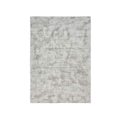 La Redoute Interieurs Tapis uni effet vieilli 100viscose, Izri 160 x 230 cm gris