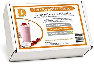 20 Strawberry Meal Replacement VLCD Diet Shakes by KeeDietA Estimated Price : £ 25,99