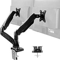 Vivo Height Adjustable Dual Arm Monitor Desk Mount