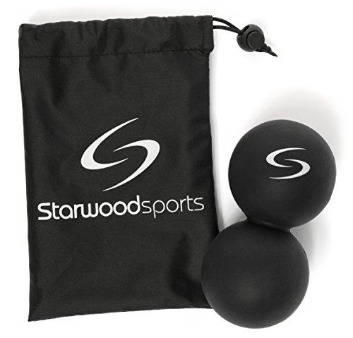 Starwood Sports Masaje Pelota - maní Bola de Lacrosse - Ideal para miofascial, Disparador Terapia y Masaje Profundo - Mejor Movilidad Pelota para Crossfit y Yoga - garantía de por Vida