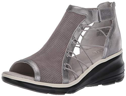 Jambu womens Naomi Pump, Grey/ Gunmetal, 7.5 US