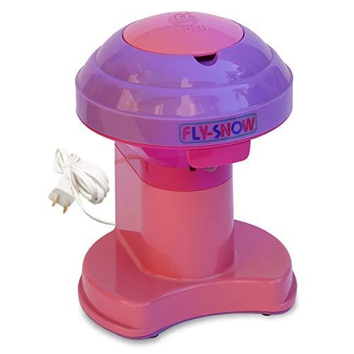 Electric Ice Shaver and Snow Cone Maker Shave Ice Premium Countertop Plug-in Machine - PURPLE
