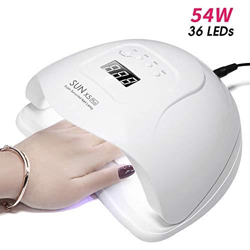Xiaofeng214 Sun X5 Led-lamp nail dryer LCD-36 LED UV-lamp drogerapparaat voor gelgereedschappen nagelpolish sensor timer auto manicure