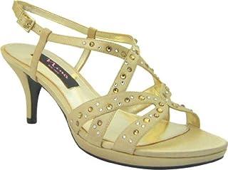 Nina Women's Norilo Slingback Sandal,Gold,9 M US