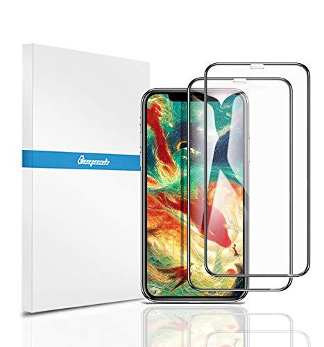 【2枚セット】【全面保護フィルム】Beyeah iPhone XR 6.1インチ 用 強化ガラス液晶全面保護フィルム 旭硝子素材 3D Touch対応 (メーカー直営店・1年保証付)