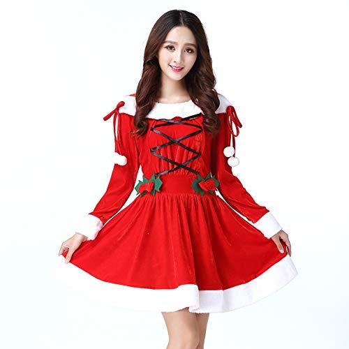 shuhong Vrouwen Miss Dress Up Kerst Rok Is 28 Inch Lange Een Maat