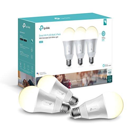 Kasa Smart Wi-Fi LED Light Bulb (3-pack)