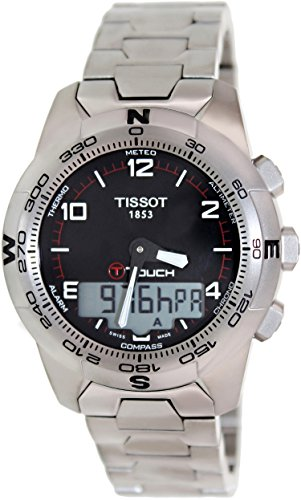 Tissot T-Touch II Altimeter/Compass Black Dial Men's Watch #T047.420.44.057.00