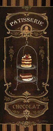AFDRUKKEN-op-GEROLDE-CANVAS-chocolade-Gladding-Pamela-Voedsel-Afbeelding-gedruckt-op-canvas-100%-katoen-Opgerolde-canvas-print-Kunstdruk-op-gerold-canvas-v-Afmeting-83_X_33_cm