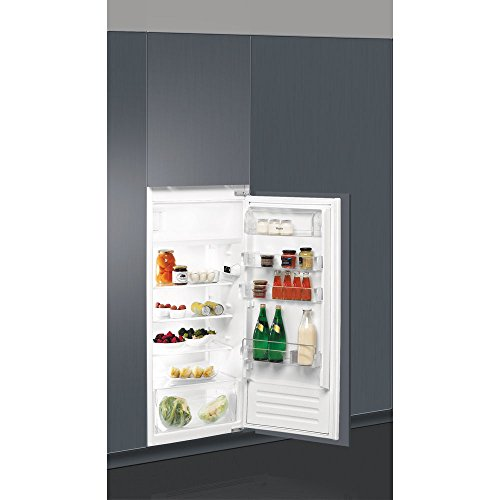 Whirlpool ARG 734/A+/2 Einbau-Kühlschrank, 191l A+ Edelstahl, Gefrierschrank (191 l), keine Pfeffer (Kühlschrank), SN-T, 2 kg/24h, A+, Edelstahl
