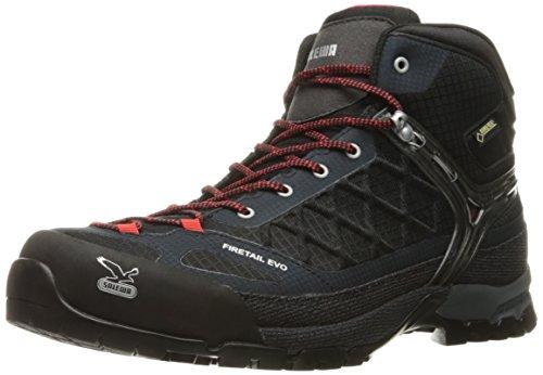 SALEWA Firetail Evo Mid Gtx, Scarpe da trekking e da passeggiata Uomo, Nero (0900_Black), 44 EU