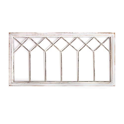 Stratton Home Decor -- Dropship, us home, SUHQX Stratton Home Distressed Window Panel Wall Decor Décor, Distressed White