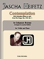 Contemplation: Wie Melodien Zieht Es Mir from Five Songs, Op. 105, No. 1