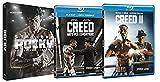 Rocky - La Saga Completa + Creed 1 + 2 (8 Blu Ray) - Edizione Italiana ⭐⭐⭐ VENDUTO DA VIDEO LINE ⭐⭐⭐
