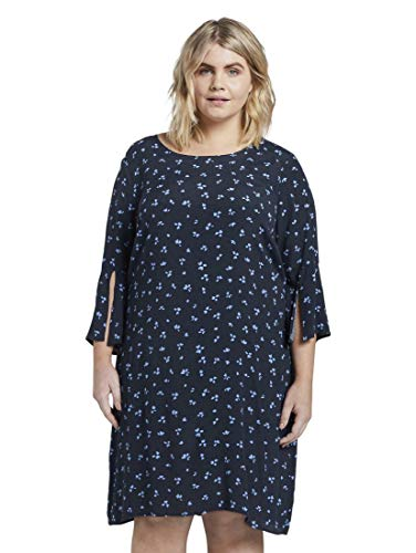 TOM TAILOR MY TRUE ME U-Boot Kleid, Damen, Blau 52 EU