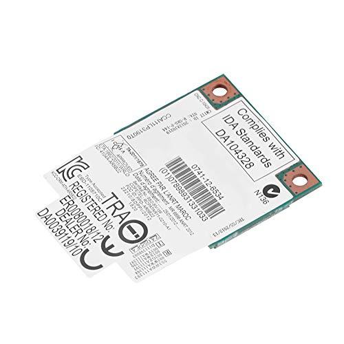 Guoshiy Tarjeta WiFi, Tarjeta inalámbrica, Transferencia de Archivos Navegación por Internet Descarga de música Computadoras portátiles de Banda Dual de 2.4G / 5Ghz para computadoras de Escritorio