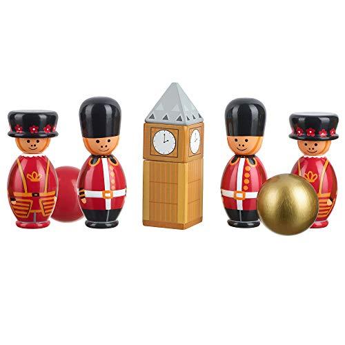 Orange Tree Toys London Plaquettes en bois - version anglaise
