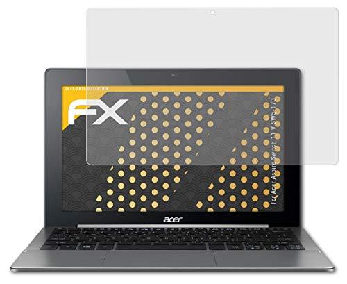 atFolix Panzerfolie kompatibel mit Acer Aspire Switch 11 V SW5-173 Schutzfolie, entspiegelnde & stoßdämpfende FX Folie (2X)
