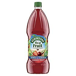 REAL FRUIT IN EVERY DROP - Made with sun-ripened summer fruits; Each squash is made with real fruits which are squeezed, pressed or crushed into every drop NO ARTIFICIAL COLOURS AND FLAVOURINGS, NO ADDED SUGAR - Robinsons's better tasting flavours co...
