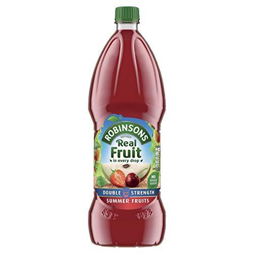 Robinsons Fruit Squash - Low Calorie - Double Concentration - Summer Fruits - 1.75 Litre