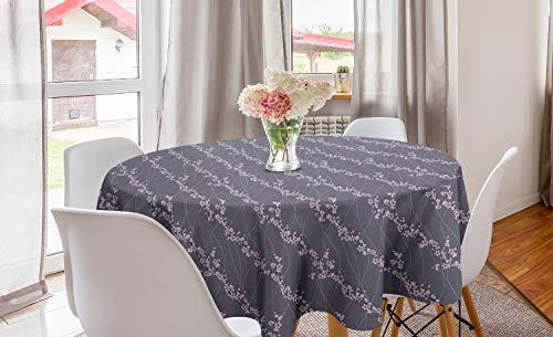 ABAKUHAUS Floral Mantel Redondo