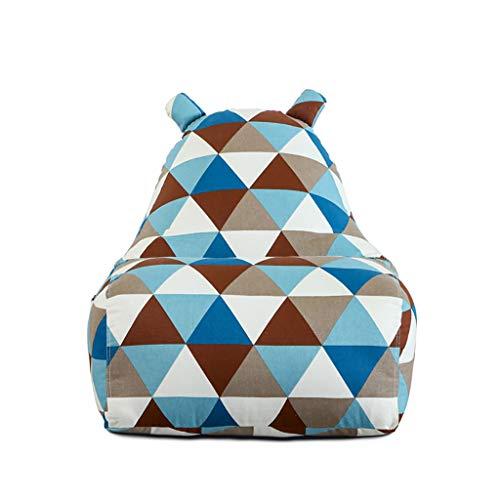 SD Canapé Pouf Poire Bean Bag Chaise Un Pouf Sige De Rangement Grande Fauteuil Confortable Durableavec Repose-Pied pour Enfants Et Adultes 80 * 70 * 90cm
