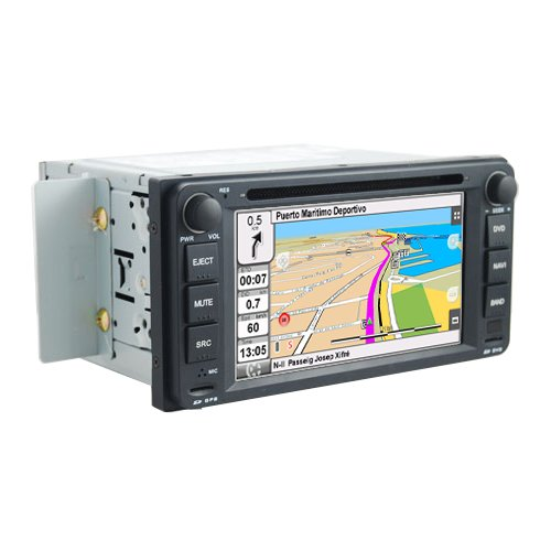 2DIN 6,7' TOYOTA MULTISERIES: NAVEGADOR GPS, MANOS LIBRES BLUETOOTH, CD, DVD, USB, SD, IPOD