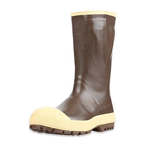 "Servus lll Advanced 15"" Neoprene Steel Toe Men's Work Boots, Copper & Tan (22234), 12, Non-Insulated"