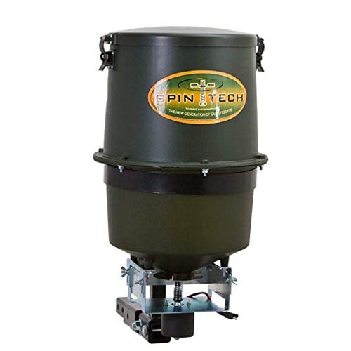 3. Spintech Hitch-Mount Seed, Salt, and Fertilizer Multi-Spreader