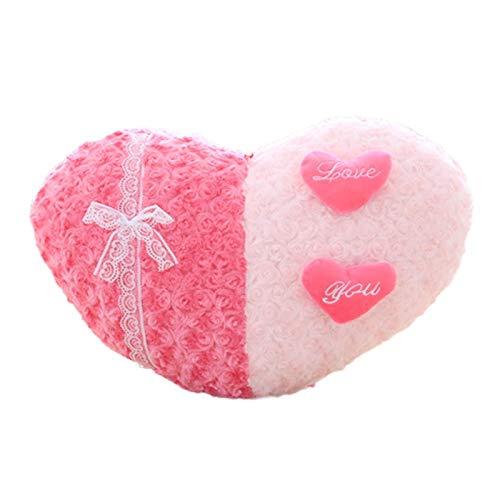 MiaoMiao pluche speelgoedWedding cadeau liefde kussen creatieve mooie hart bank kussen huisdecoratie gevuld pluche speelgoed Kerstmis verjaardagscadeau voor meisje