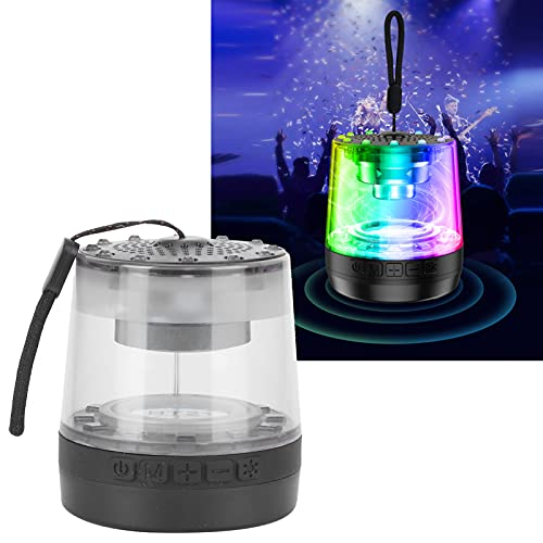 Bluetooth Speaker, 360° All‑Round Music Colorful Bluetooth Speaker Lamp for Camping Night Repairs for Bedside Lighting Reading