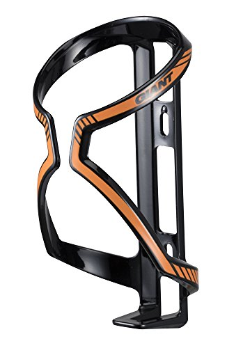 Giant Flaschenhalter Fahrrad Flaschenhalter Kunststoff Airway Sport orange schwarz orange