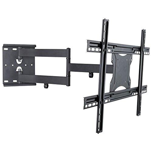 NEG Profi Universal TV-Wandhalterung Extender 6012 (schwarz) Schwenk-, neig- und ausziehbar, Full Motion (bis max. VESA 600x400 und 45kg)