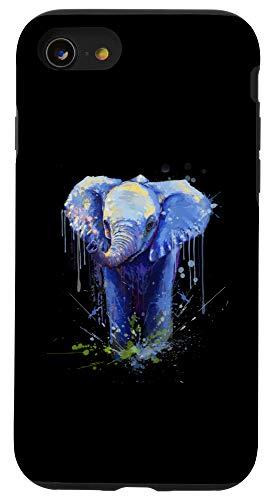iPhone SE (2020) / 7 / 8 Elephant Artwork - Big Mammal Elephant Artwork Gift Case