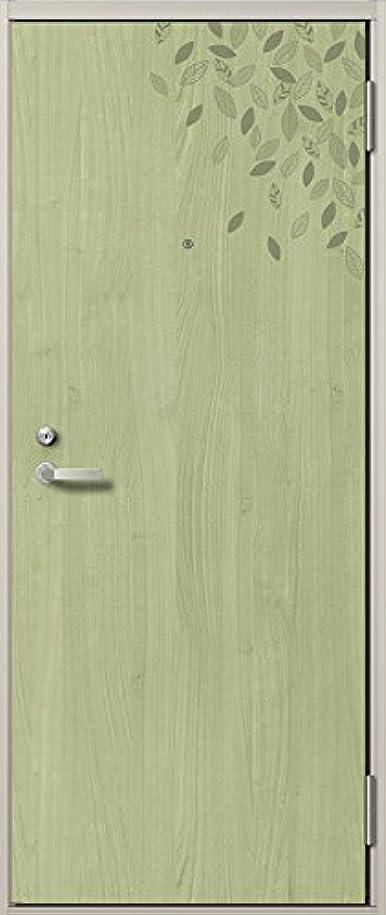楽観蓋可能にする玄関 ドア アパートドア リクシル リジェーロα ランマ無 K4仕様 1ロック 23型 W:785mm × H:1912mm アングル付きフラット枠 レバーLAA型 吊元:左吊元 製品色:リーフグリーン