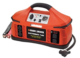 BLACK+DECKER VEC026BD Electromate 400 Jump-Starter with Built-in Air Compressor (B000EJS9IM) | Amazon price tracker / tracking, Amazon price history charts, Amazon price watches, Amazon price drop alerts