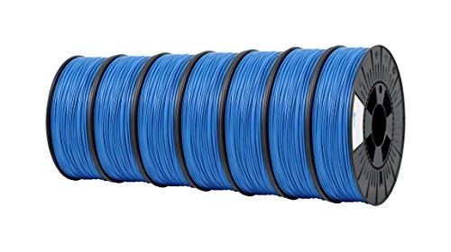 ICE FILAMENTS ICE7VALP126 Lot de 7 filaments PET 2,85 mm 0,75 kg Bleu