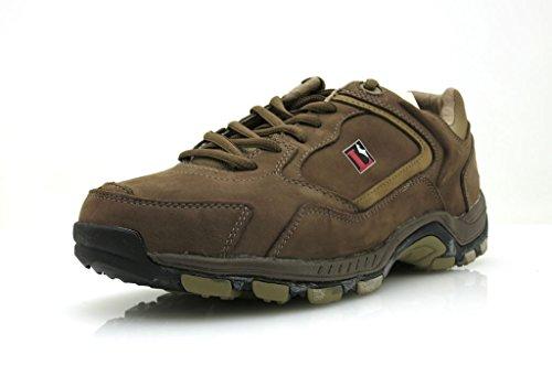 Lackner Wanderschuhe Trekkingschuhe Lederschuhe Leder Schuhe 6732 6754 Farbe Braun, Schuhgröße 42