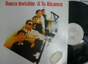 Antiguo disco. Old vinyl disc. DANZA INVISIBLE. A TU ALCANCE.