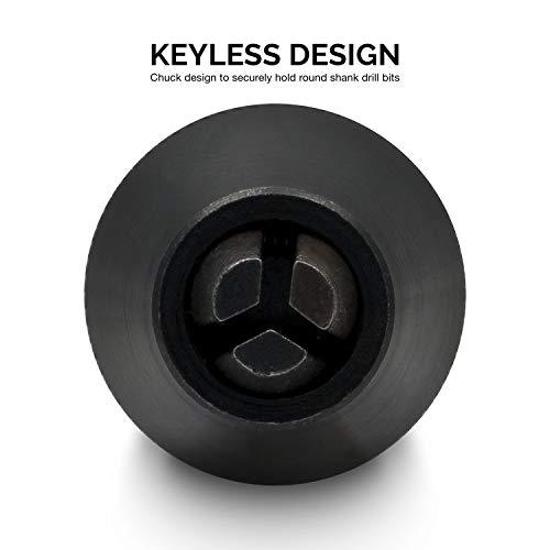 Neiko 20753A Keyless Chuck Conversion Tool | 1/4-Inch Shank,Clear